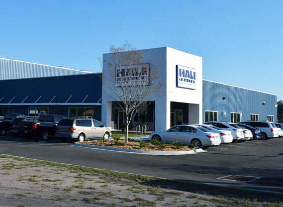 Jacksonville, Florida Hale Trailer Service Facility