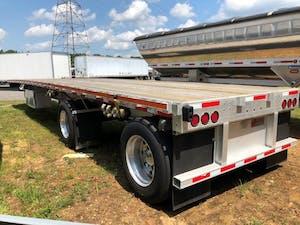 standard flatbed trailer